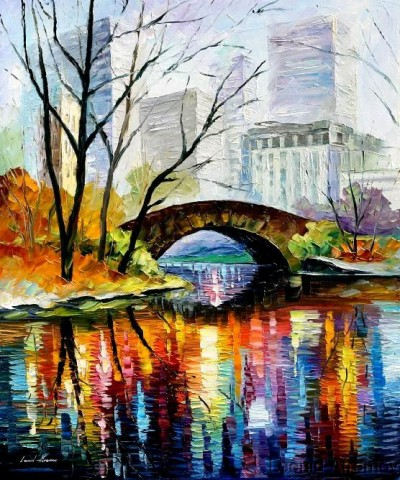 Leonid Afremov - Central Park New York