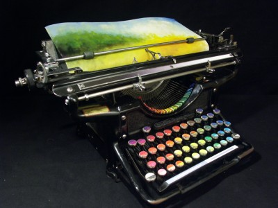 Tyree Callahan - Chromatic Typewriter