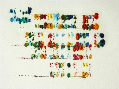 Tyree-Callahan - Chromatic Typewriter : véritable sortie papier
